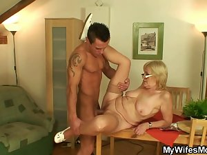 I've just fucked my mother-in-law
