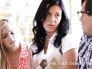 Moms Teach Sex - He finally gets to fuck his stepmom!