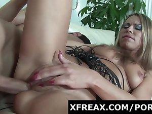 Milf Enjoys Young Cock