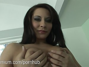 Madison Ivy loves to masturbate her little pussy