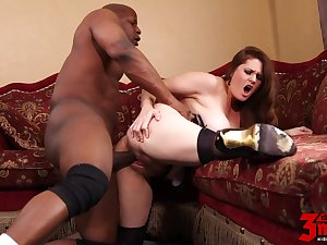Allison Moore Banged By A Bbc
