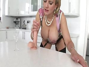 LADY SONIA and her dildo