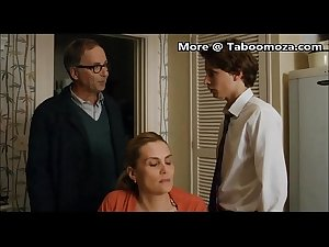Stepmother kissing with her young son - Taboomoza.com