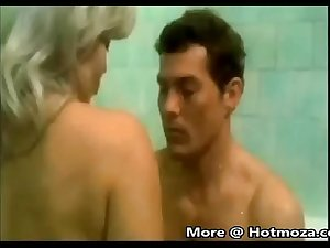 StepMother and Son Bath Together