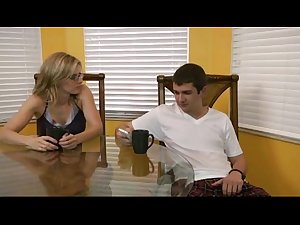 Young Stepmom From SEXDATEMILF.COM Seduces Not Real Son Part II