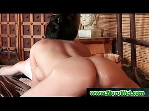 NuruMassage Son Fully Serviced by Step-Mom 09