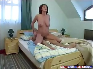 Chubby Russian Mom and Step Son 02