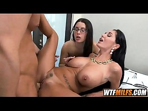 StepDaughter And Stepmother Fuck BF Ava Addams &amp_ Daisy Summers 4..