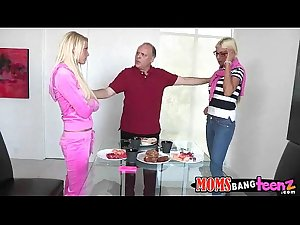 Mommy fucks daughter and boyfriend Puma Swede, Vanessa Cage. 71