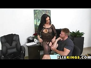 Mom fucks in lingerie 91