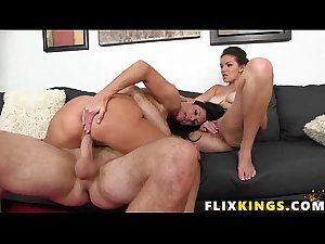 Mom and daughter threesome 96