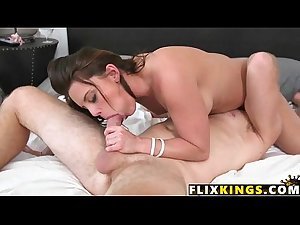 Hot mommy enjoying young cock 94