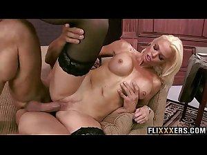 Sexy blonde MILF in lingerie Rhylee Richards 95
