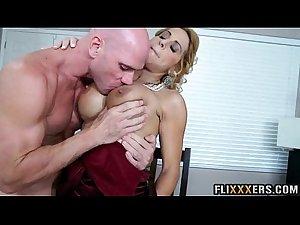 Hot big tits MILF Alyssa Lynn 92