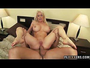 Gorgeous mommy pussy Diamond Foxxx fucked hard 95