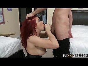 Gorgeous redhead MILF Sarah Blake 92