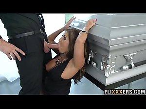 Fuckng in a funeral Akira Lane 91