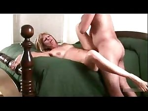 Step mom fucked by young son