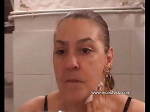 Son Seduces  Mom and Fucks Her